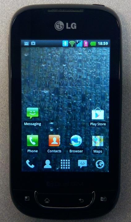 LG P698 Dual SIM Android Smartphone