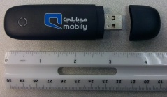 Typical USB Wireless 3G Internet dongle